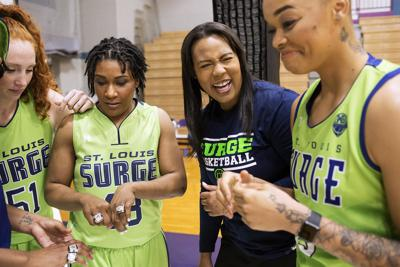 St. Louis Surge owner shoots for more women in pro basketball's owner, referee ranks