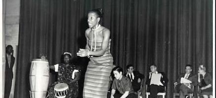 Sylvia del Villard Dancing