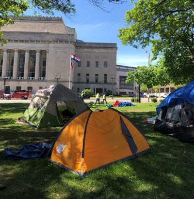 Market Street tent encampment