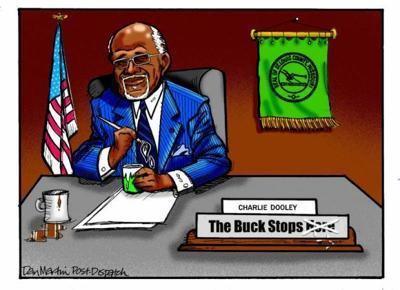 St. Louis Post Dispatch editorial cartoon
