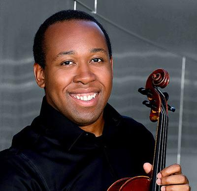 Andrew Francois joins the SLSO on viola