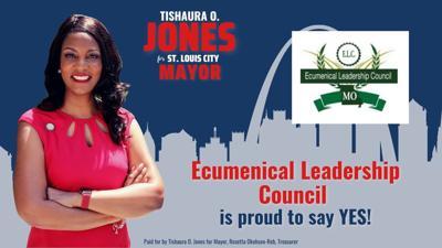 Ecumenical Leadership Council endorses Tishaura Jones