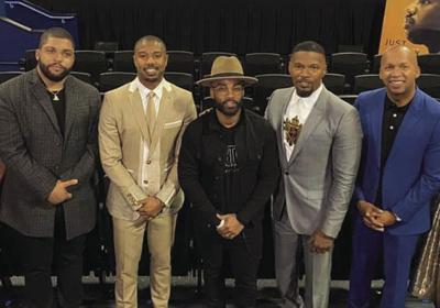 Swag Snap of the Week: O'Shea Jackson Jr., Michael B. Jordan, Willie Moore Jr., Jamie Foxx and Bryan Stevenson