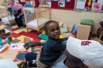 With most kids not fully returning to schools, limited child care alternatives emerge
