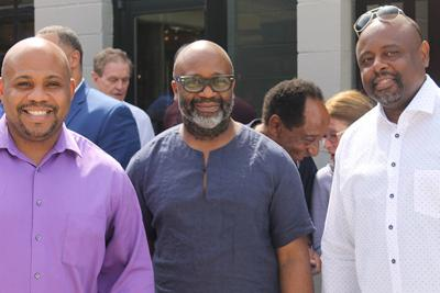 Theaster Gates, Brian Phillips and Abdul-Kaba Abdullah