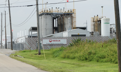 Veolia Environmental Services incinerator