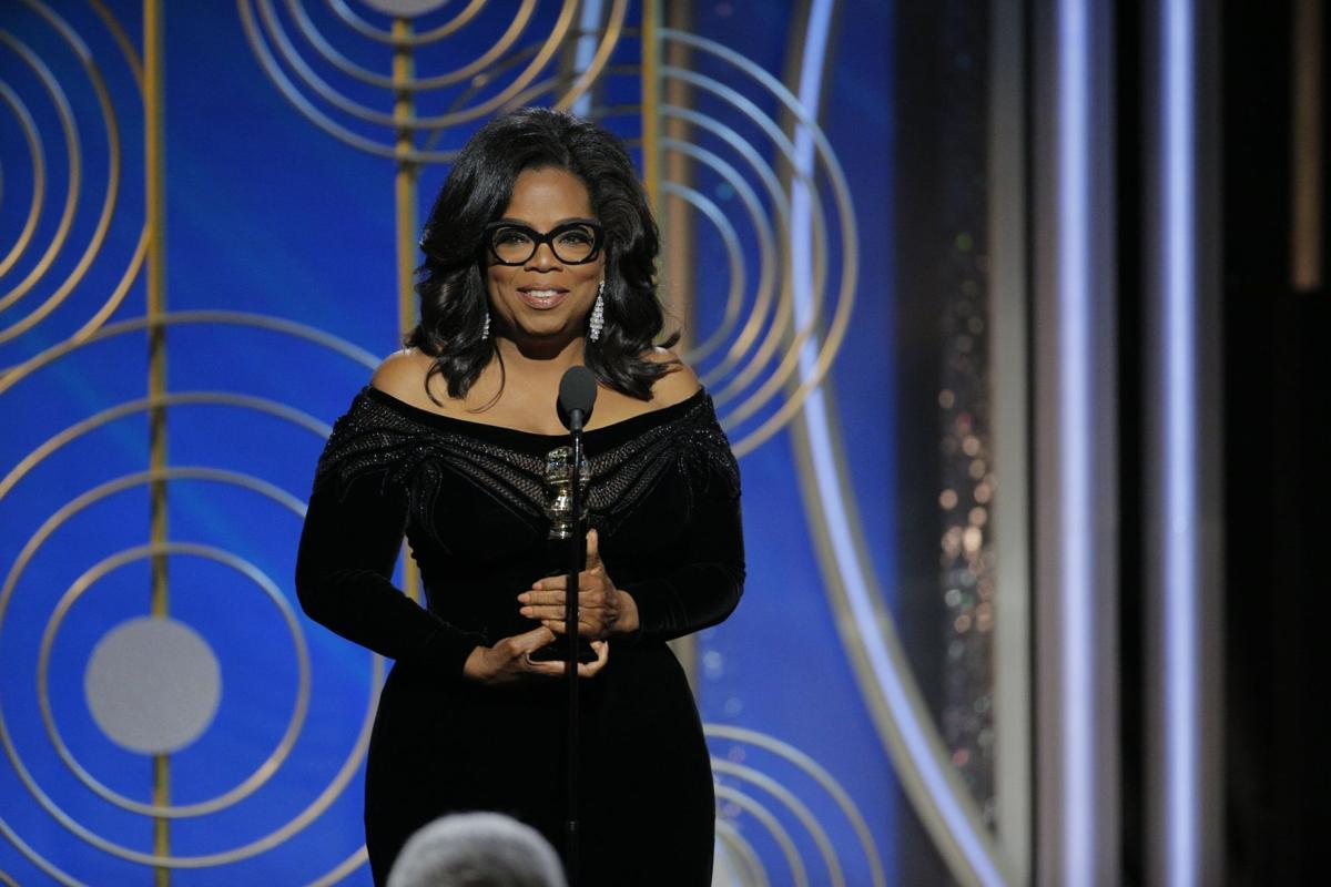 Image result for Oprah Winfrey: 'For too long women have not been heard or believed'