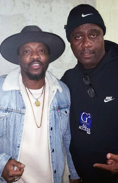 Swag Snap of the Week: Anthony Hamilton and Sylvester The Cat
