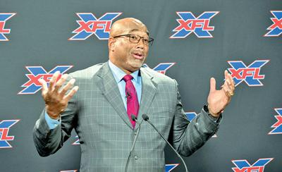 Jonathan Hayes, coach of St. Louis's XFL franchise