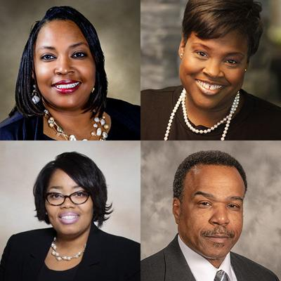 W. Tina Anderson, Paris Forest, Kimberly C. Hodge-Bell and Darnell Sanders