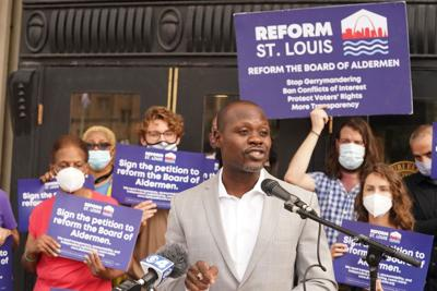 Yinka Falite with Reform St. Louis