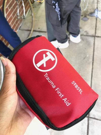 St. Louis Street Medics first aid kit