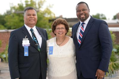 Dr. Rick White, Dr. Anita White and Orv Kimbrough