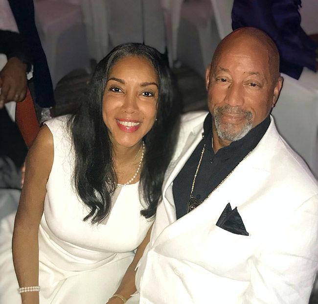 Teesha Hernandez and Larry Deskins