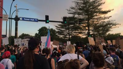 Protest for black trans lives