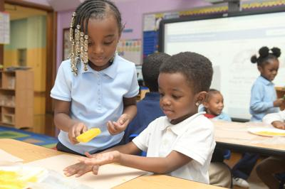Bryan Hill Pre-K students