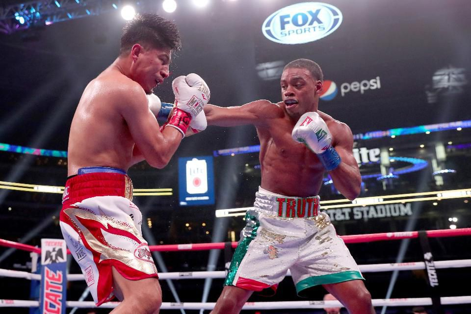 Mikey Garcia and Errol Spence Jr.