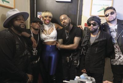 Swag Snap of the Week: Dru Hill with DJ Shay Money