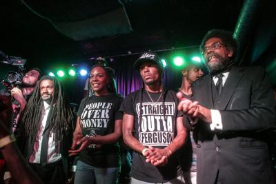 Rev. Sekou, Bree Newsome, Darren Seals and Cornel West
