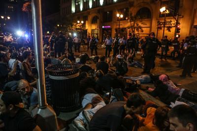 Stockley verdict protest mass arrest