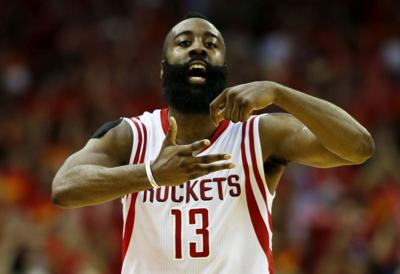 the best attitude 40e52 693ef Harden s 30-point game streak ends at 32   Local Sports ...