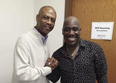 Swag Snap of the Week: James T. Ingram & Will Downing