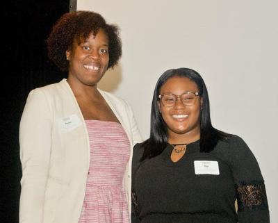 Kiesha Davis and Nya Martin