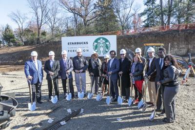 Starbucks Ferguson groundbreaking