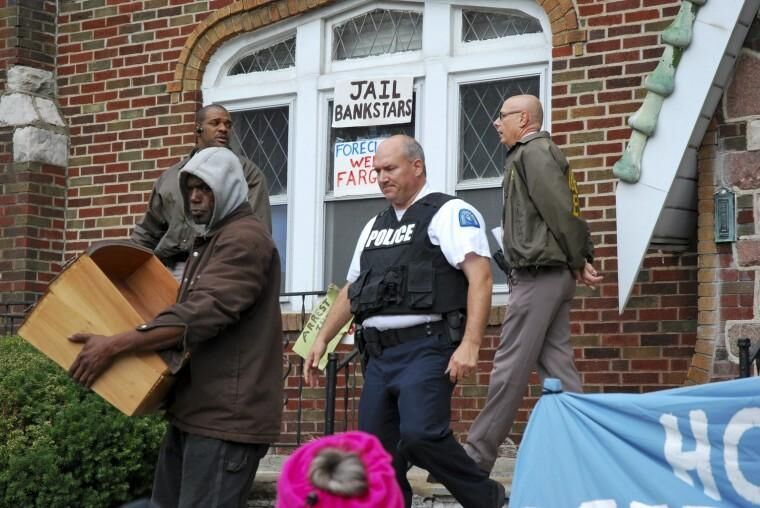 Homeowner evicted