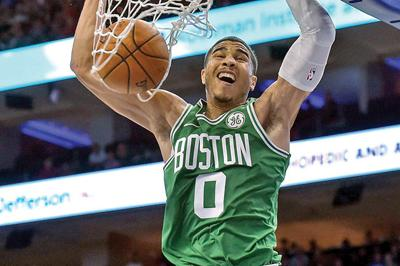 cd07bc38d00 Jayson Tatum averaged 18.5 points over his 19 postseason games