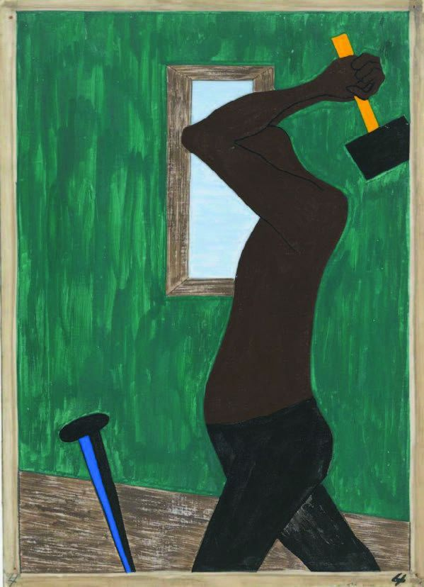 The Migration, Panel 4, by Jacob Lawrence