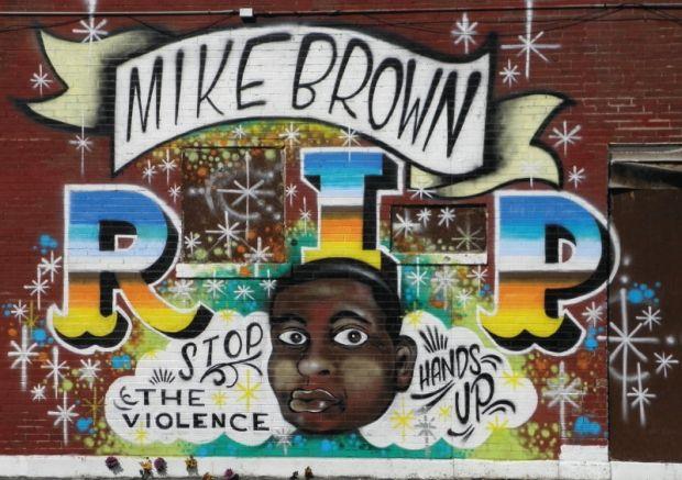 Michael Brown Jr. mural