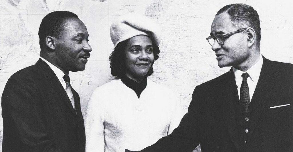 Ralph Bunche - MLK - Coretta