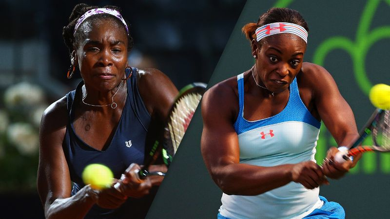 Venus, Stephens To Meet in All-American US Open Semifinal