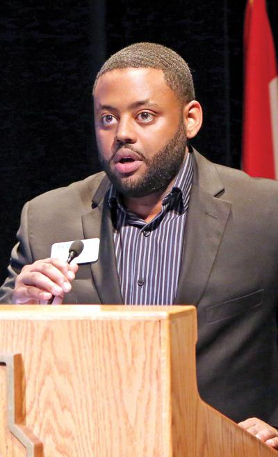 Turan Mullins, assistant dean for diversity & inclusion at Maryville University