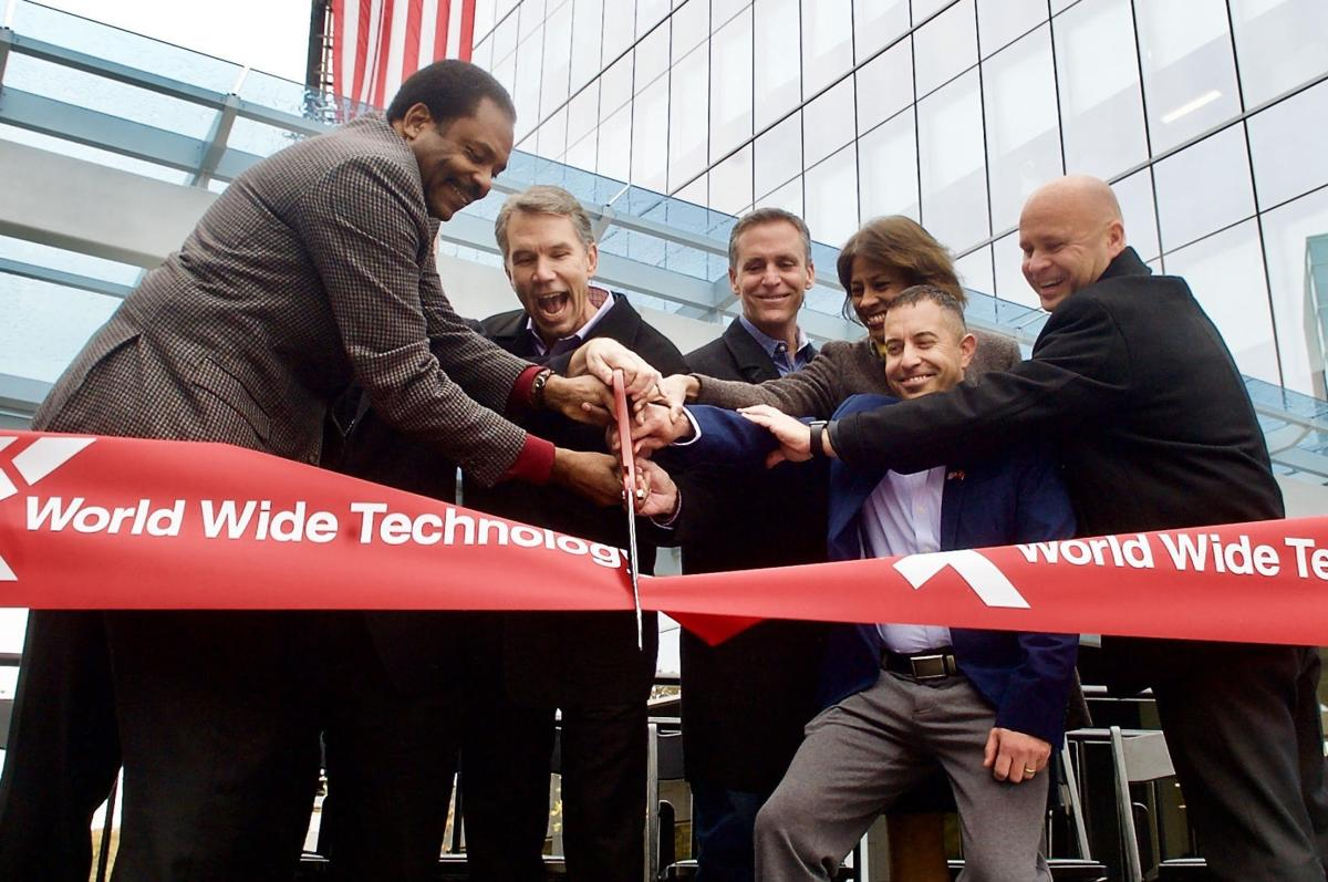 World Wide Technology opens new headquarters with room to expand