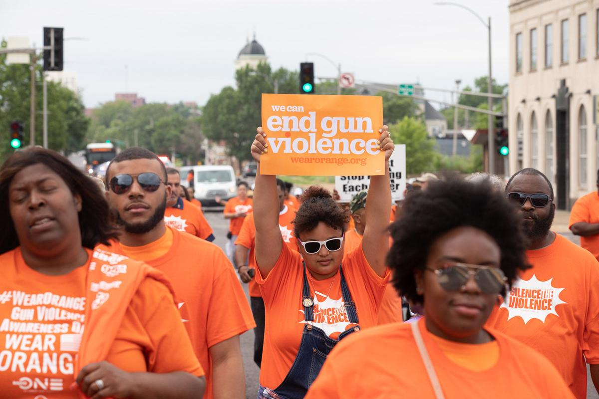 Wear Orange Day STL March
