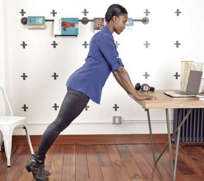 Desk workout