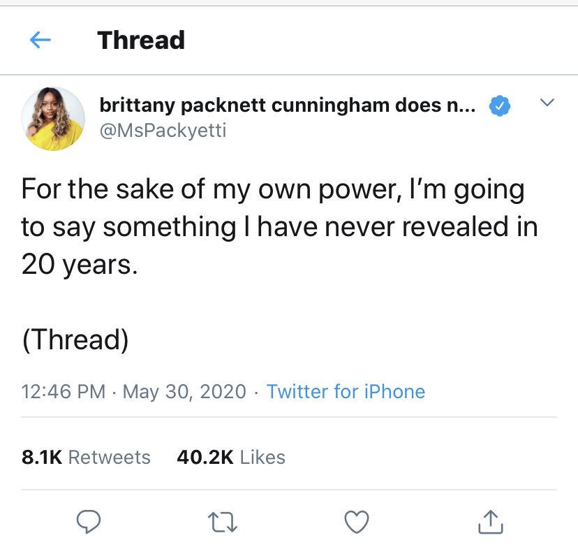 Brittany Packnett Cunningham tweet