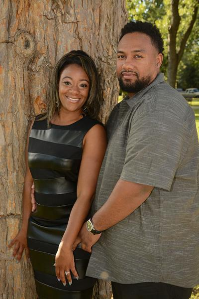 Alana Washington and Mark McGhee