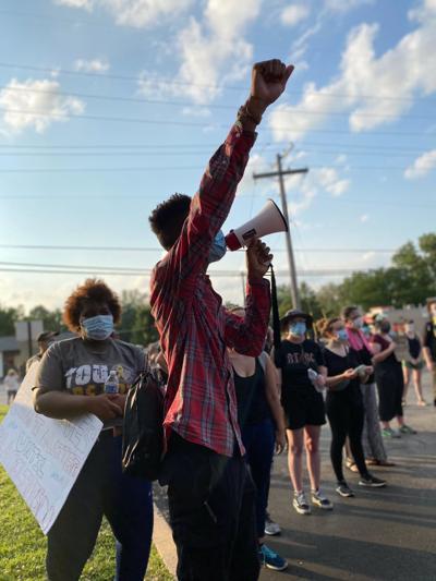 Florissant protest