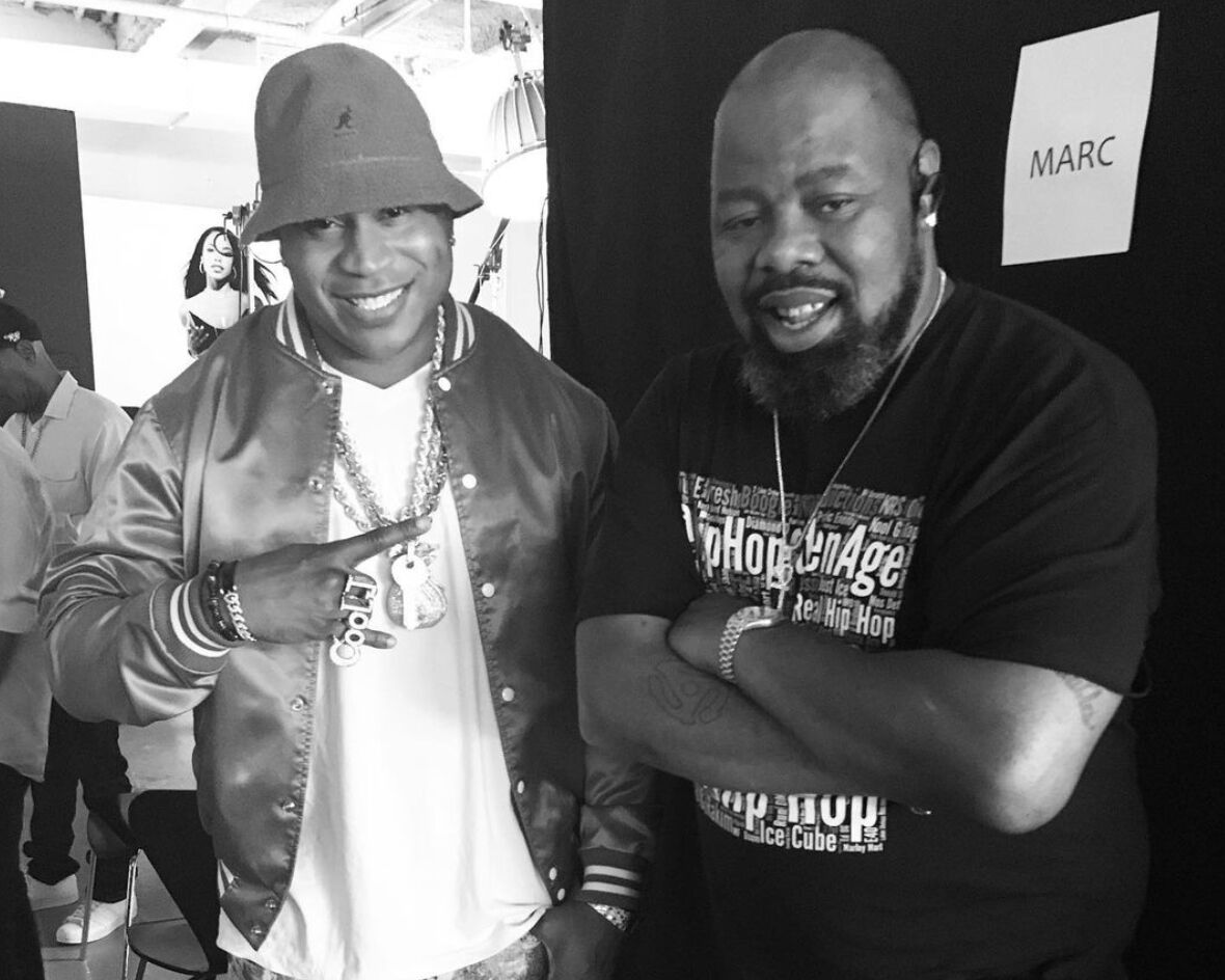 LL Cool J and Biz Markie
