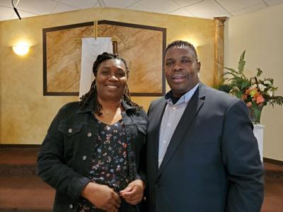 Pastor Ulysses Ross and Clarissa Ross