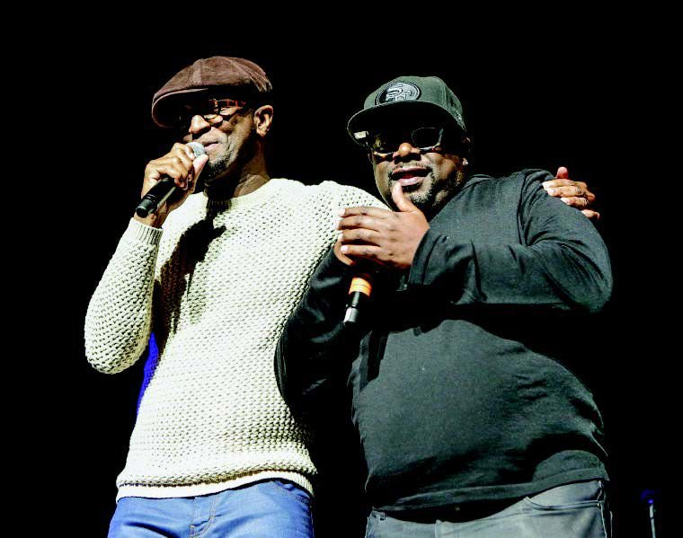 Rickey Smiley and Cedric The Entertainer