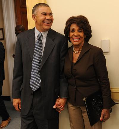 U.S. Rep. Wm. Lacy Clay and Rep. Maxine Waters