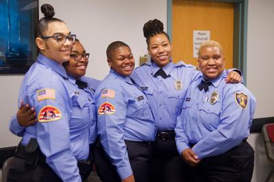 St. Louis County swears in nine women corrections officers