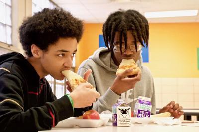 Schools feed students during shutdown