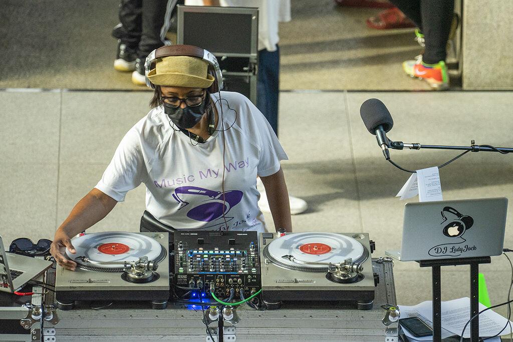 DJ LadyJock from 88.1 KDHX
