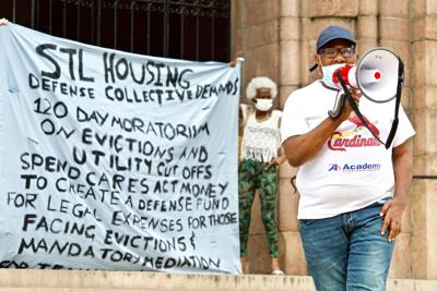 St. Louis Housing Defense Collective Anti-Eviction Rally