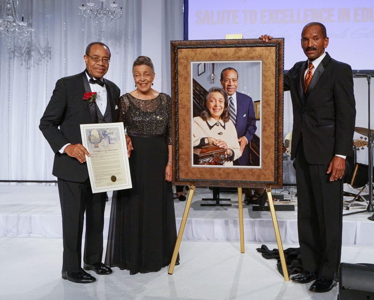 Shirley Brown, Charles Brown and Wiley Price